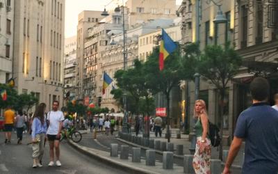 Улици в Букурещ стават пешеходни през почивните дни