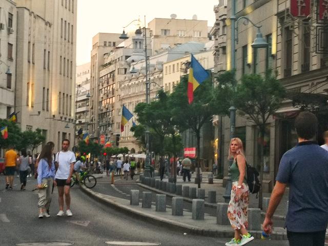 Отворени улици в Букурещ