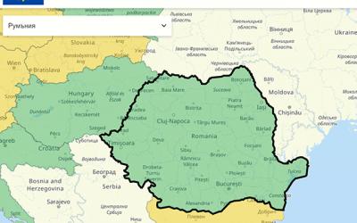 България вече на списъка на страните, за които се налага карантина в Румъния