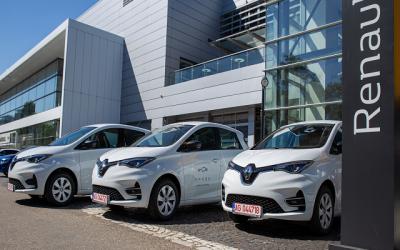 SPARK Румъния разширява флотата си с 400 нови електромобила Renault ZOE и става най-голямата компания за споделяне на автомобили от региона