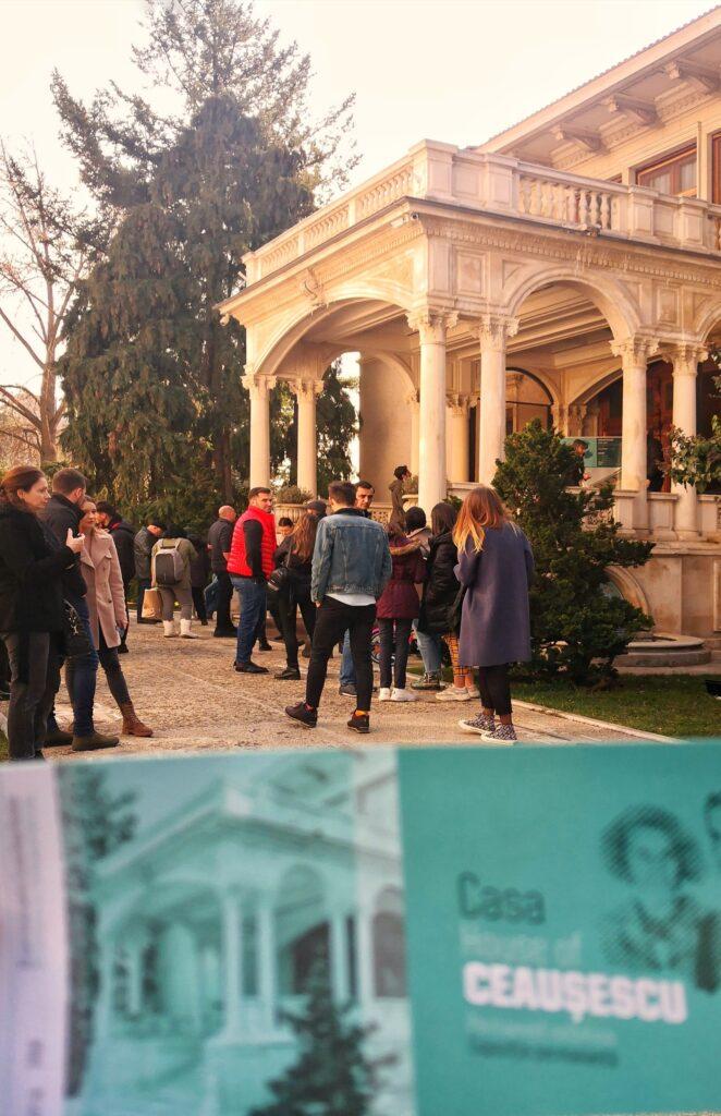 билети къщата на Чаушеску