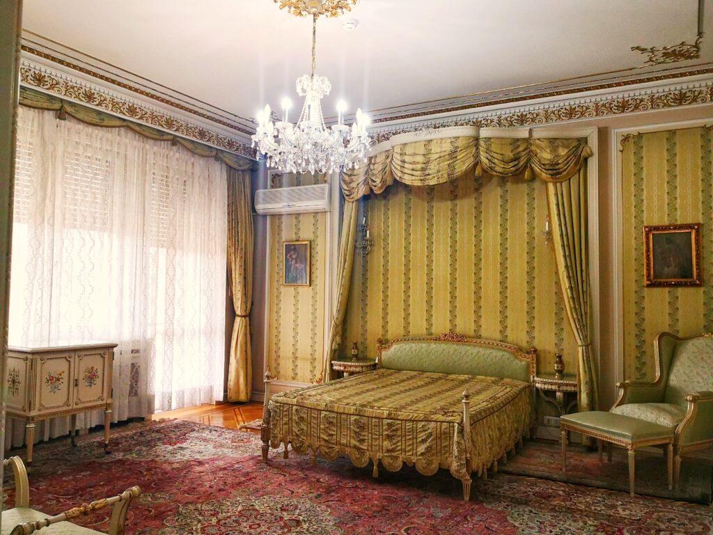 спалня къщата на Чаушеску