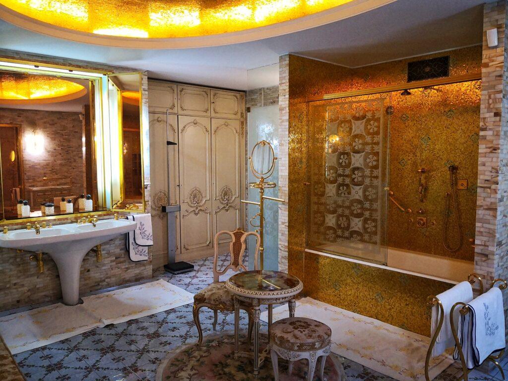 баня в къщата на Чаушеску