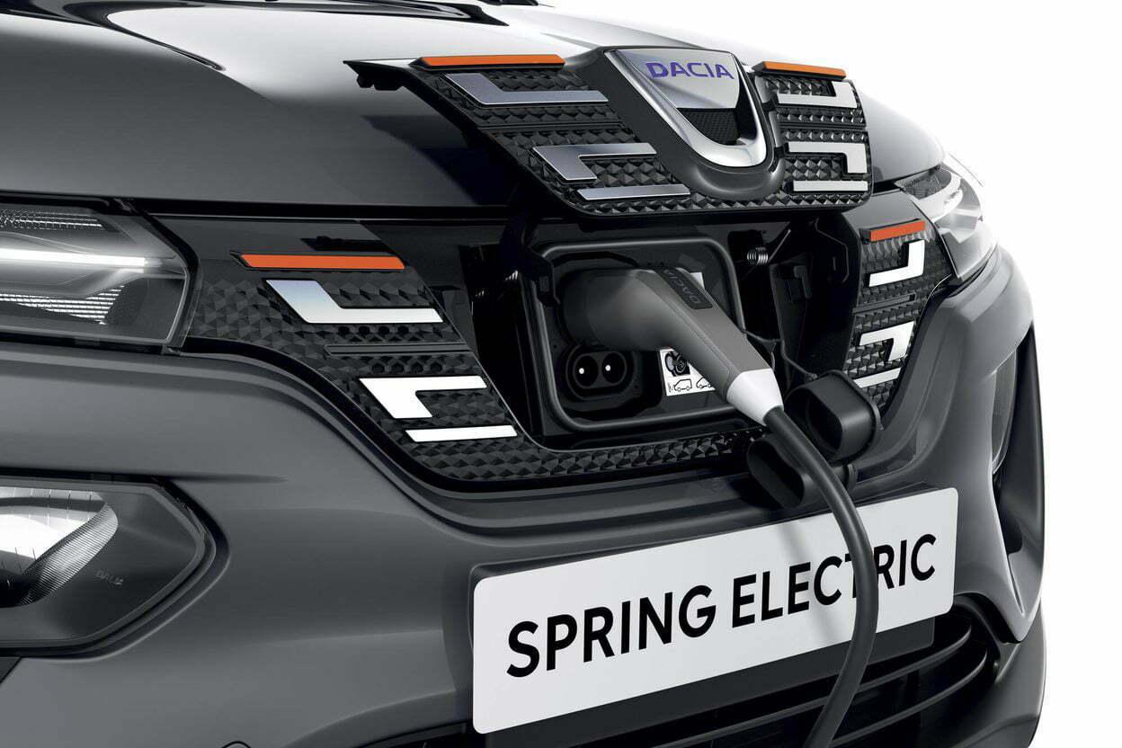MyRo.Biz Dacia Spring Electric charging 2020 1