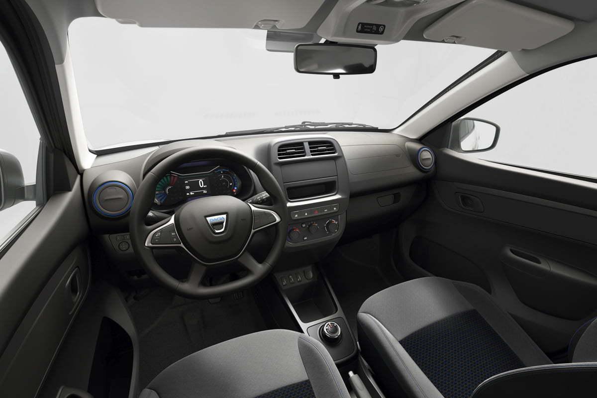 MyRo.Biz Dacia Spring Electric interior 2020