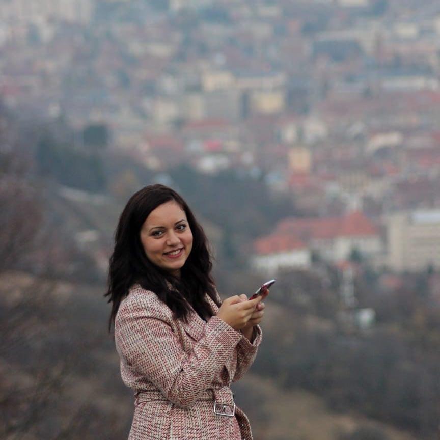 Инна Русева в Брашов
