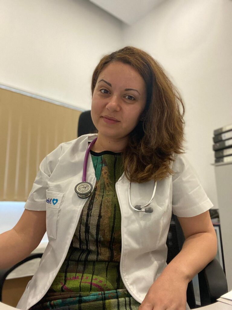 Инна Русева лекар в Букурещ