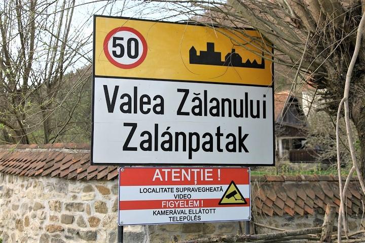 Valea Zalanului indicator Romania