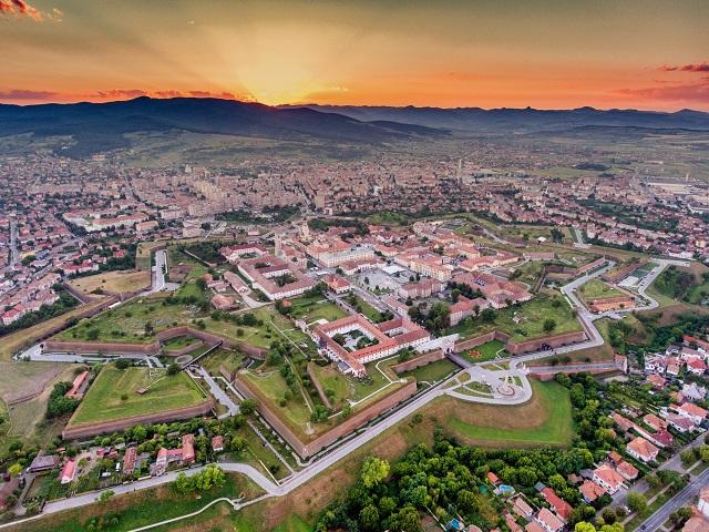 Крепостта Алба Юлия, Трансилвания